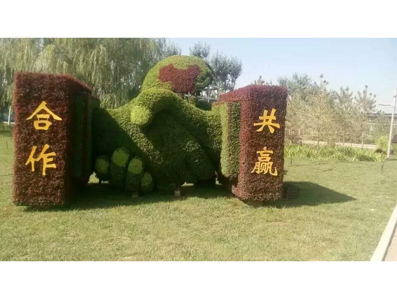 绿雕可信赖-买绿雕当然是到创叶园立体花坛