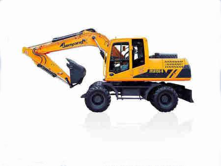 贵州口碑好的JY615E-N轮胎式液压挖掘机供应商是哪家,知名品牌轮胎式液压挖掘机