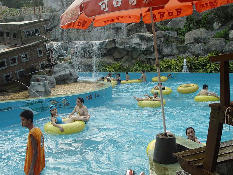 安徽水上乐园建造公司-热销的环流河游艺设施推荐