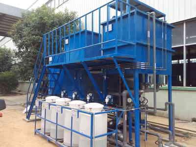 洗涤洗浴废水采用ao法一体化污水处理设备出水达到国家一级标准