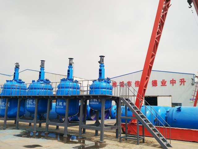 淄博中升机械淄博价格实惠的搪玻璃反应罐出售|江苏搪玻璃反应釜