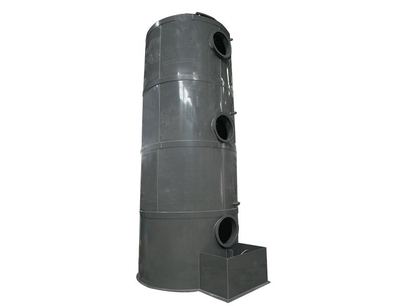 立式PVC喷淋塔