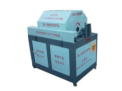 重慶小型鋼筋除銹機|螺紋鋼除銹機推薦