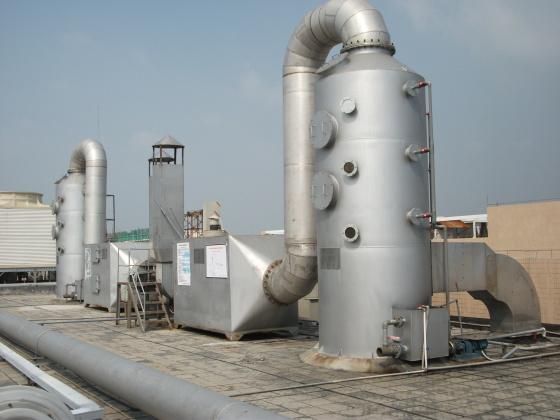 洛阳皮带厂VOC有机废气处理办法 永蓝喷淋净化塔厂家直销