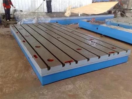 T型槽铸铁平台铸铁t型槽焊接装配平台生产制造厂家