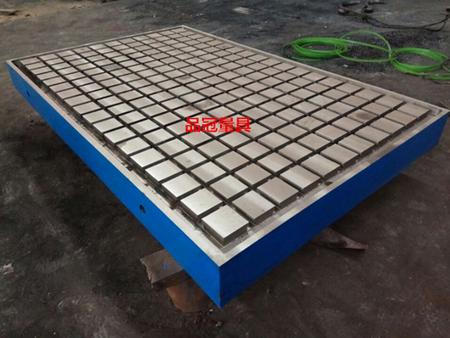 选购质量可靠的T型槽铸铁平台就选品冠量具制造有限公司 上海T型槽铸铁平台