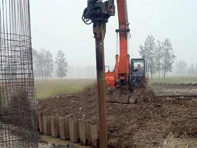钢板桩nsspiv-河北规模大的钢板桩供应商当属铭信达基础工程