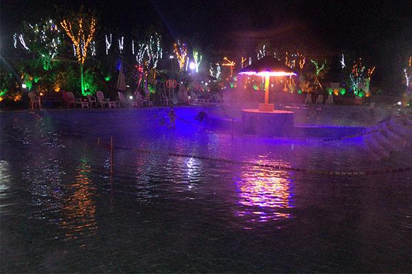 靠譜的亮化工程優選廣西風雨林科技_柳州游泳池亮化