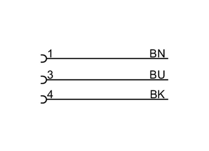 带插座连接电缆价格_大量供应热卖的电感式传感器