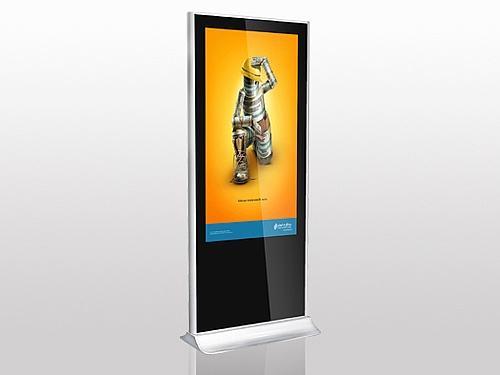 42寸壁挂电容触控一体机价格_选购广告机上哪家