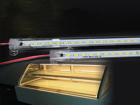 220V高压硬灯条中岛柜面包柜保鲜柜高压免驱led灯条