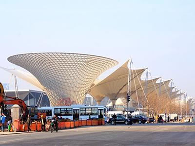 厂家热销膜结构景观棚景观膜结构设施建筑膜结构景观棚可定制