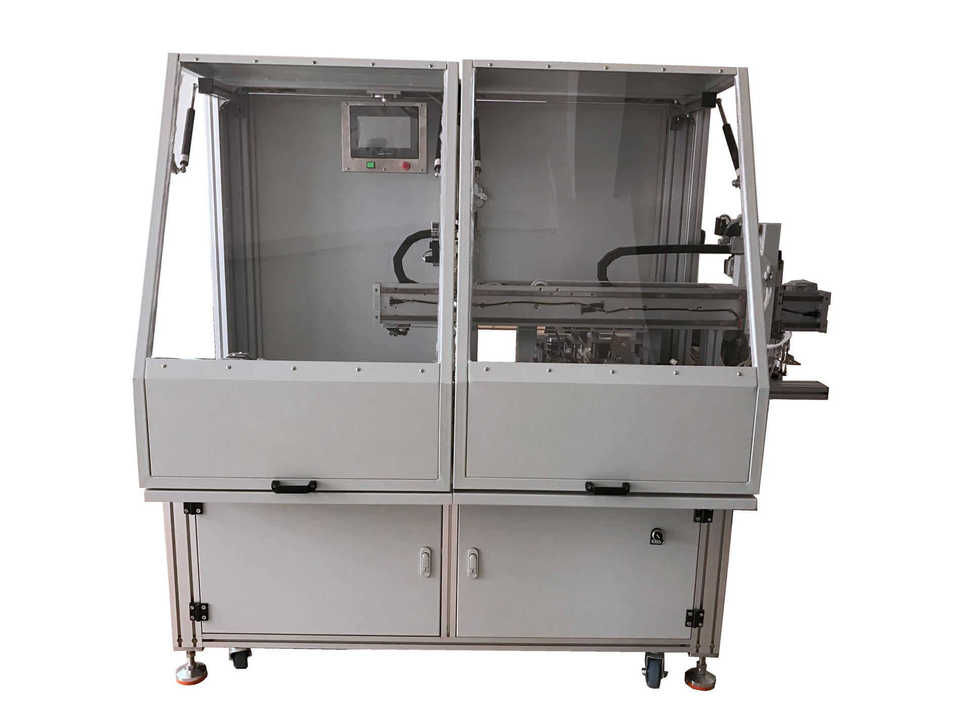 LCD液晶屏全自动夹脚机公司|规模大的全自动装脚机 XMJK-FDZ06生产厂家