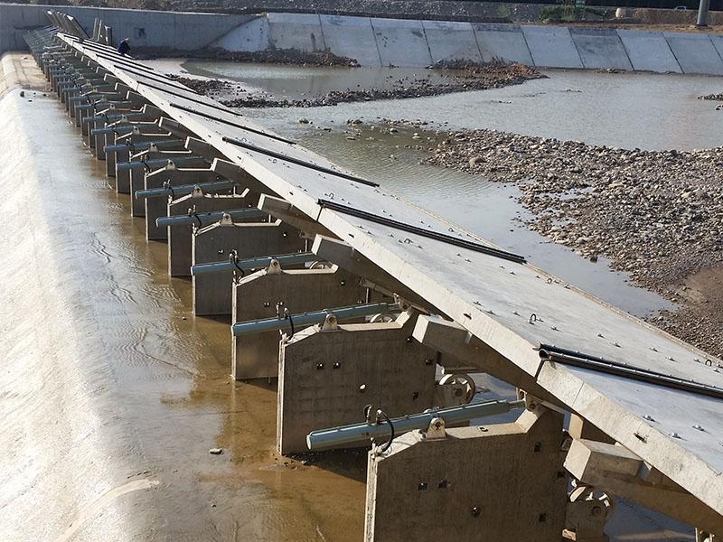 为您推荐衢州市河圣水力自控翻板门销量好的液压闸门-天津闸门