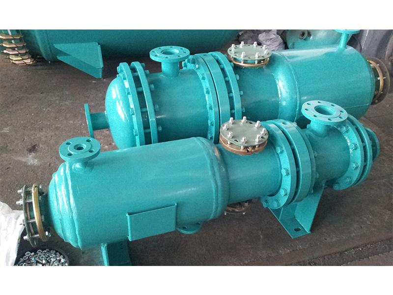 搪玻璃列管式冷凝器價位-大量供應高性價搪玻璃列管式碟片式冷凝器