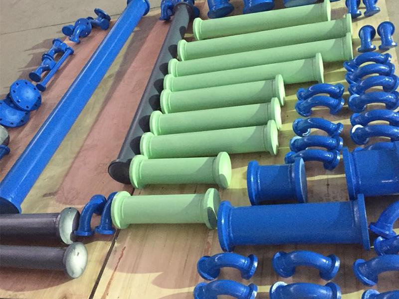 厂家直销搪玻璃管道搪玻璃塔节搪玻璃管道价格