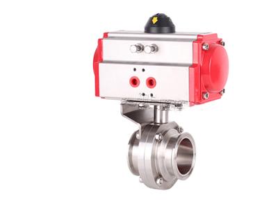 氣動三通球閥-專業的氣動衛生級快裝蝶閥生產廠家