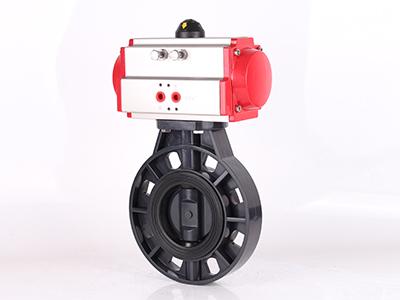 气动PVC蝶阀厂家――【实力厂家】生产供应气动PVC蝶阀