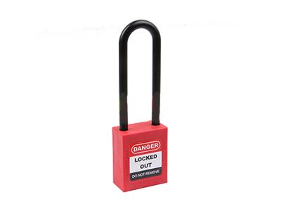 76MM绝缘长梁系列之安全挂锁直销-洛科安防用品供应合格的76MM-A型绝缘长梁系列之安全挂锁