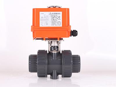 电动塑头PVC球阀代理――专业的电动塑头PVC球阀奥翔自控阀门供应