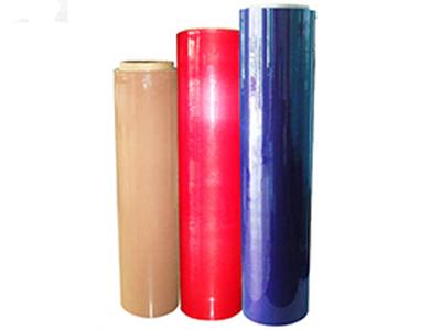 pe拉伸缠绕膜分切缠绕膜小卷彩色缠绕膜拉伸膜