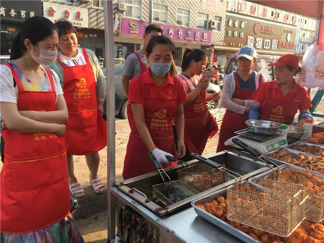 郑州炸鸡加盟前景好 潜力大_鹤壁风味炸鸡加盟多少钱