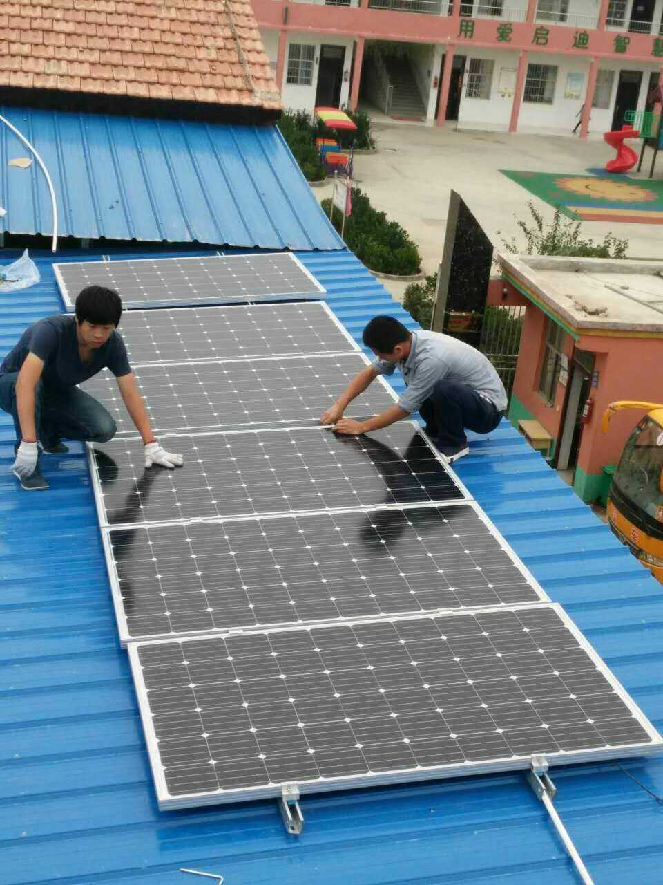 商丘光伏发电 商丘太阳能安装 电车光伏发电
