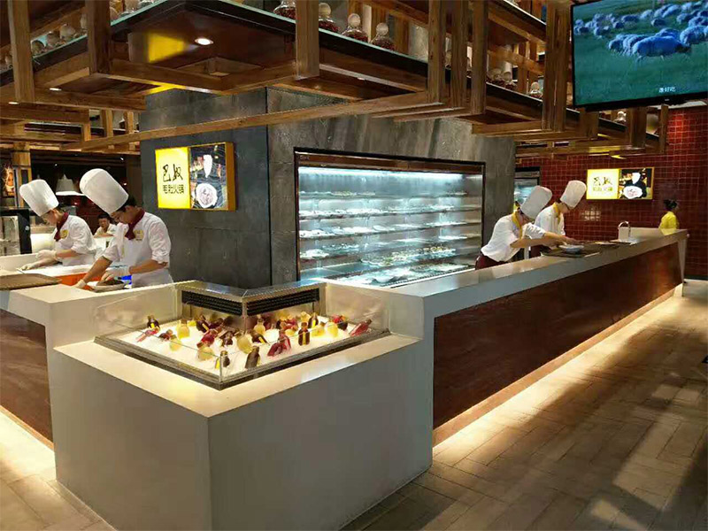 哪家公司可以定制类似巴奴火锅那样的点菜柜?