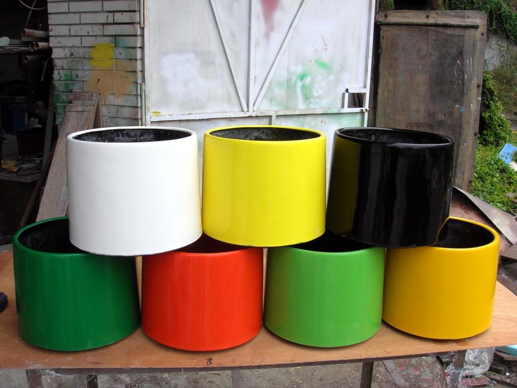 供應各種規格玻璃鋼花盆——鞍山玻璃鋼花盆生產廠家