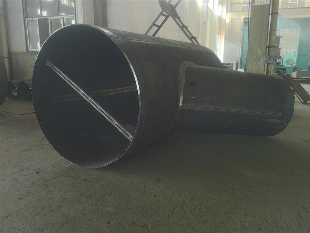 等径弯管焊三通,直角不锈钢三通,平焊口三通生产流程