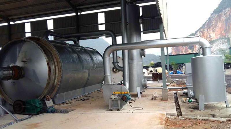 河南废橡胶炼油设备厂家特色|定南废旧橡胶炼油设备