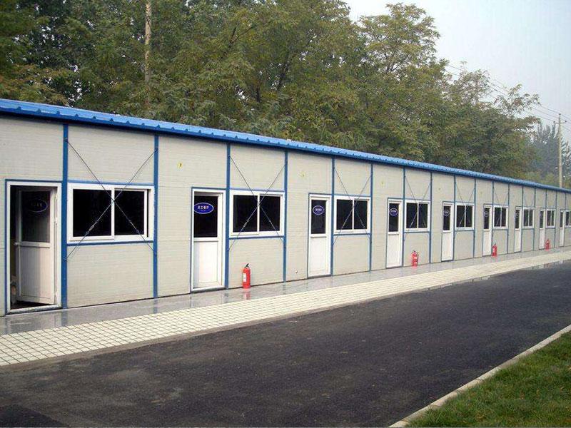 优良的活动板房搭建就在旭华建材-单层k式活动房活动板房