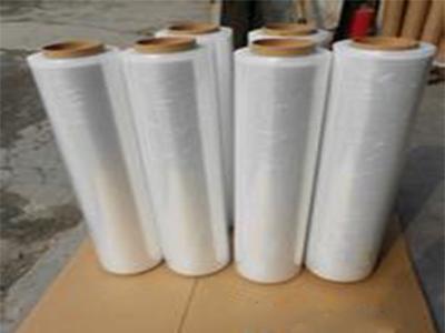 厂家LLDPE缠绕膜50cm净重3公斤自粘包装膜
