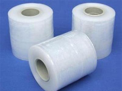PE分切膜15cm自粘拉伸膜厂家直销缠绕膜、分切膜