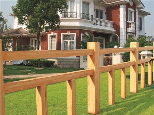 榆林仿木护栏安装-陕西优质仿木栏杆供应
