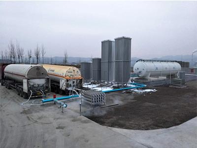 lng撬装加气站-鸿霖气体设备优良的LNG气化调压一体撬出售