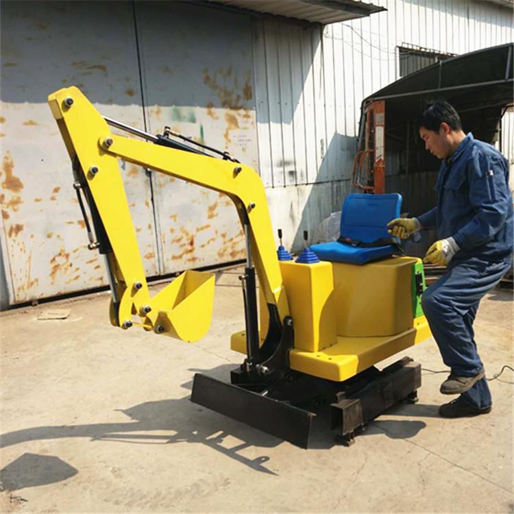 文德机械扫码远启动游乐场儿童挖掘机服务市场十余载质量可靠