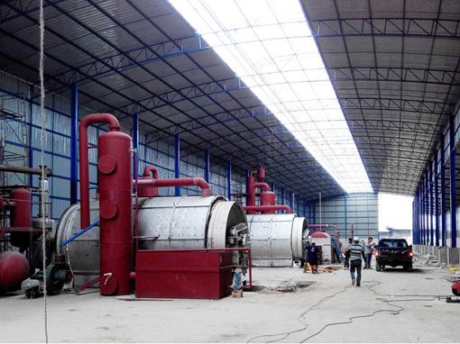 废铝箔纸炼油设备