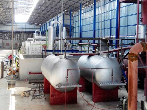 新型环保亚克力炼油设备