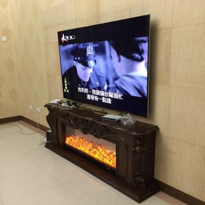 2米欧式壁炉架 电视柜壁炉 装饰取暖壁炉架 LED壁炉芯壁炉