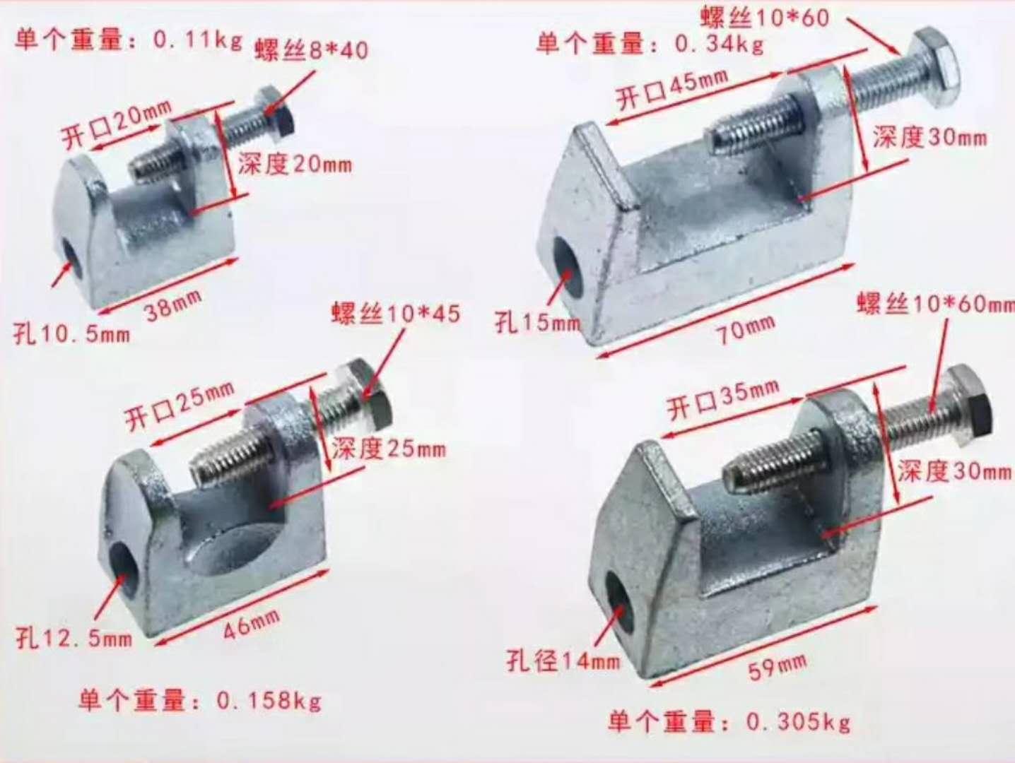 受欢迎的25开口铸铁老虎卡推荐 25开口铸铁老虎卡价位