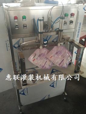 汽车洗液灌装机洗涤剂灌装设备洗涤剂灌装封盖生产线