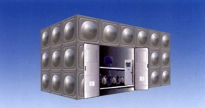 甘肅玻璃鋼水箱價格-甘肅博達供水設備質量好的玻璃鋼水箱