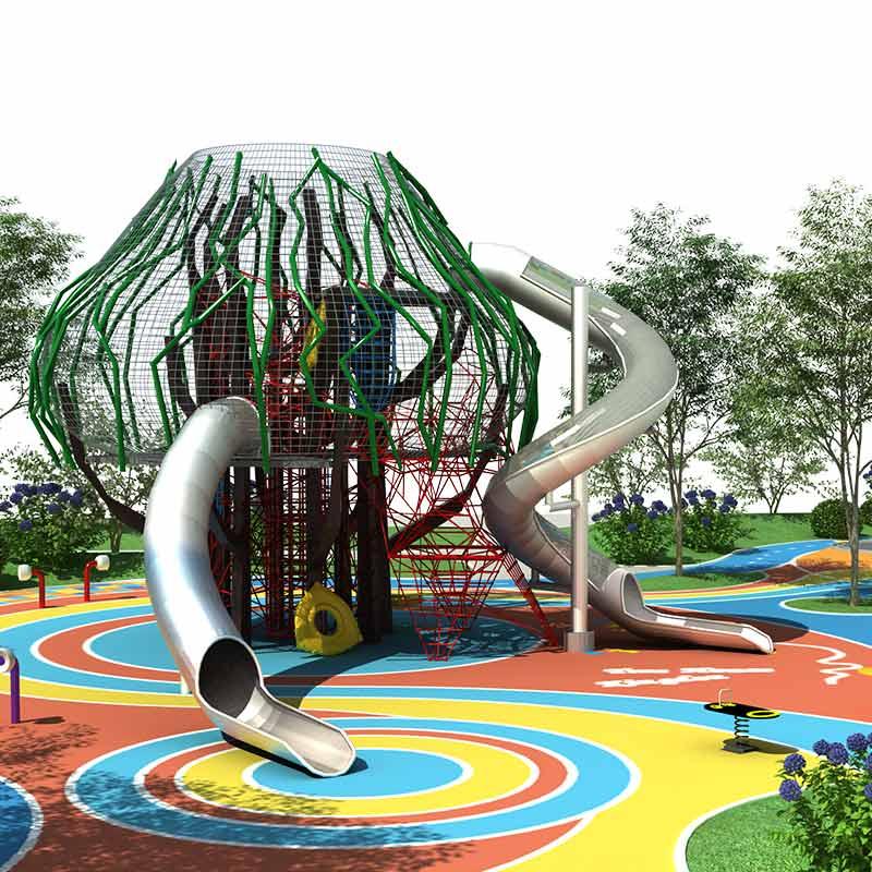 户外儿童乐园在哪里可以买到 儿童户外游乐设备设计厂家图片