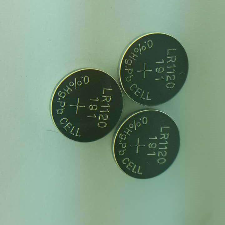 AG8纽扣电池 LR1120纽扣电子1.5V手表遥控器电池