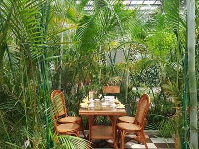 结实耐用的生态餐厅推荐——生态餐厅温室