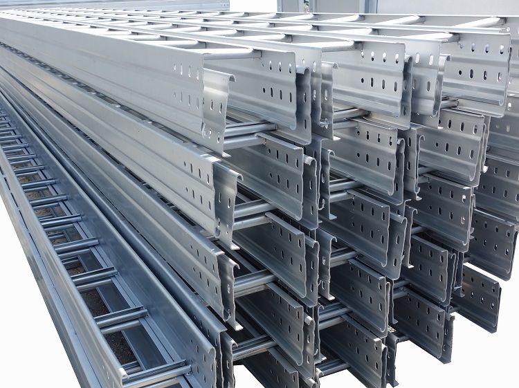电缆桥架设计生产当选青岛邦钲线管桥架_青岛大跨距桥架生产厂家