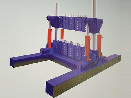 中矿博皓科技新款多绳提升钢丝绳液压调绳装置出售_液压调绳装置价格