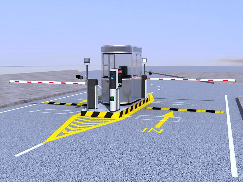 宁夏智能停车场识别系统-左旗停车管理系统-创鸿业不锈钢
