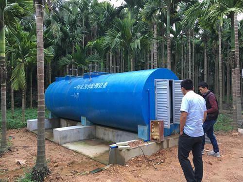 湖南价格合理的一体化污水处理-污水处理方案